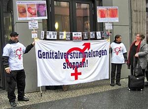 Intersex-Genitalverstümmelungen stoppen!