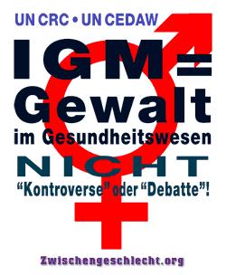 IGM = Gewalt im Gesundheitswesen, NICHT 'Kontroverse' oder 'Debatte'!