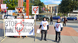 'STOP Intersex Genital Mutilation!' - UNHRC Geneva 20.10.2012