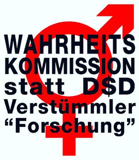 WAHRHEITSKOMMISSION statt D$D-Verstümmler-'Forschung'!