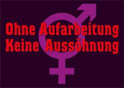 Intersex: Ohne Aufarbeitung, Keine Aussöhnung